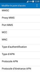 Samsung G530FZ Galaxy Grand Prime - MMS - Configuration manuelle - Étape 10