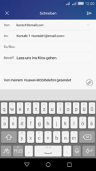 Huawei Y6 - E-Mail - E-Mail versenden - 9 / 17