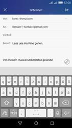 Huawei Y6 - E-Mail - E-Mail versenden - Schritt 9