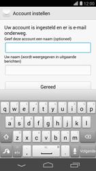 Huawei Ascend P7 - e-mail - handmatig instellen - stap 9