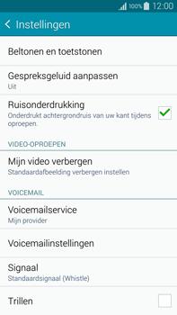 Samsung N910F Galaxy Note 4 - Voicemail - Handmatig instellen - Stap 7