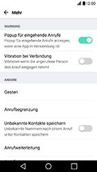 LG X Power - Anrufe - Rufumleitungen setzen und löschen - 6 / 10