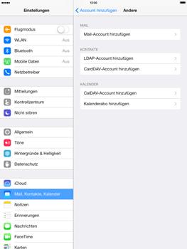 Apple iPad Air - E-Mail - Konto einrichten - 6 / 27