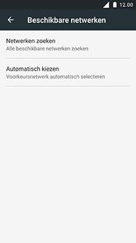 Nokia 6 - Netwerk - Handmatig netwerk selecteren - Stap 10
