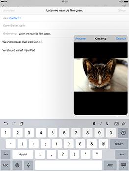 Apple iPad 9.7 (Model A1823) - E-mail - Hoe te versturen - Stap 11