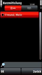 Nokia 5800 Xpress Music - MMS - Erstellen und senden - Schritt 11