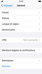 Apple iPhone SE - iOS 13 - Téléphone mobile - Réinitialisation de la configuration d