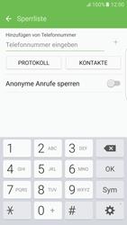 Samsung G925F Galaxy S6 edge - Android M - Anrufe - Anrufe blockieren - Schritt 8