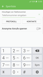 Samsung Galaxy S6 Edge - Anrufe - Anrufe blockieren - 8 / 12