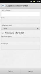 Sony Xperia S - E-Mail - Manuelle Konfiguration - Schritt 11