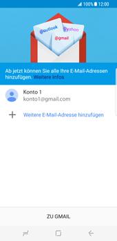Samsung Galaxy S8 - E-Mail - Konto einrichten (gmail) - 15 / 18