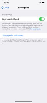 Apple iPhone XR - Données - créer une sauvegarde avec votre compte - Étape 12