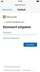 Apple iPhone SE - iOS 14 - E-Mail - 032c. Email wizard - Outlook - Schritt 7