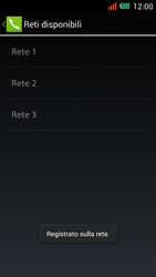 Alcatel One Touch Idol Mini - Rete - Selezione manuale della rete - Fase 12