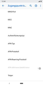 Google Pixel 3 - MMS - Manuelle Konfiguration - 13 / 26