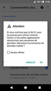 Sony Xperia XA2 Ultra - Internet - Désactiver les données mobiles - Étape 7