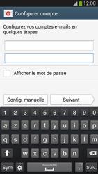 Samsung Galaxy S 4 LTE - E-mail - configuration manuelle - Étape 6