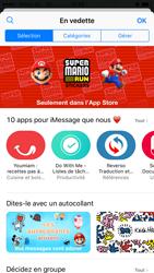 Apple iPhone 6 iOS 10 - iOS features - Envoyer un iMessage - Étape 18