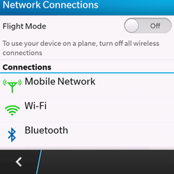 BlackBerry Q10 - Bluetooth - Connecting devices - Step 5