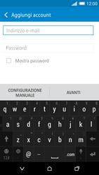 HTC One M8 - E-mail - configurazione manuale - Fase 6