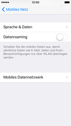Apple iPhone SE - Ausland - Im Ausland surfen – Datenroaming - 7 / 10