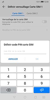 Huawei Mate 10 Pro - Android Pie - Prise en main - Comment activer un code SIM - Étape 8