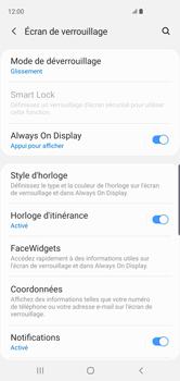 Samsung Galaxy S10 - Sécuriser votre mobile - Activer le code de verrouillage - Étape 5