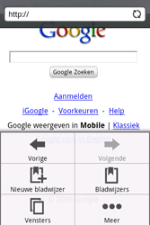HTC A6262 Hero - internet - hoe te internetten - stap 8