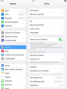 Apple iPad mini 2 - Logiciels - Installation de mises à jour - Étape 6