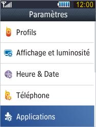 Samsung B3410 Star Qwerty - E-mail - Configuration manuelle - Étape 4