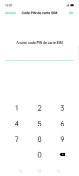 Oppo Find X2 Lite - Sécuriser votre mobile - Personnaliser le code PIN de votre carte SIM - Étape 8