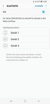 Samsung Galaxy S8 Plus - Bluetooth - Verbinden von Geräten - Schritt 7