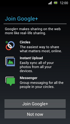 Sony Xperia U - Applications - Setting up the application store - Step 10