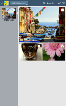 Samsung Galaxy Tab 3 8 4G - Contact, Appels, SMS/MMS - Envoyer un MMS - Étape 19