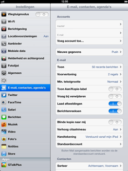 Apple The New iPad - E-mail - handmatig instellen - Stap 14