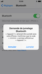 Apple iPhone SE - iOS 11 - Bluetooth - Jumelage d