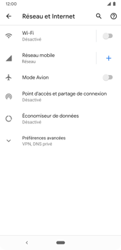 Google Pixel 3a - Internet et connexion - Accéder au réseau Wi-Fi - Étape 5