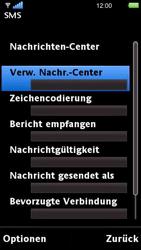 Sony Ericsson U5i Vivaz - SMS - Manuelle Konfiguration - 12 / 14