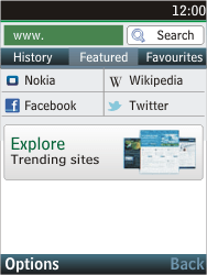 Nokia C2-05 - Internet - Internet browsing - Step 4