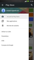 HTC One - Applications - Comment vérifier les mises à jour des applications - Étape 5