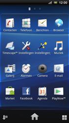 Sony Ericsson R800 Xperia Play - E-mail - hoe te versturen - Stap 3