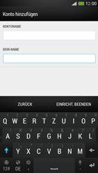 HTC One Mini - E-Mail - Konto einrichten - Schritt 18
