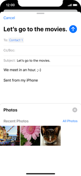 Apple iPhone 11 Pro - Email - Sending an email message - Step 11