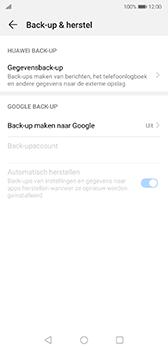 Huawei P20 - Android Pie - toestel resetten - back-up maken met jouw account - stap 7