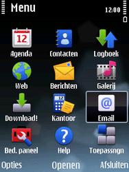 Nokia E75 - e-mail - handmatig instellen - stap 3