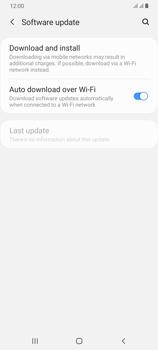 Samsung Galaxy A70 - Device - Software update - Step 6
