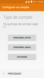 Crosscall Trekker M1 Core - E-mail - Configuration manuelle - Étape 8