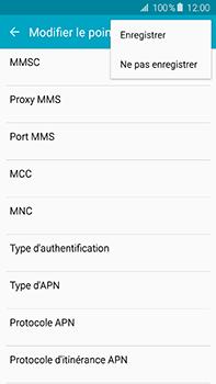 Samsung Galaxy A8 - MMS - Configuration manuelle - Étape 14