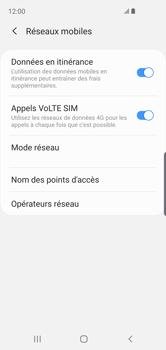 Samsung Galaxy S10e - Aller plus loin - Désactiver les données à l'étranger - Étape 6