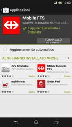 Sony Xperia Z - Applicazioni - Installazione delle applicazioni - Fase 23